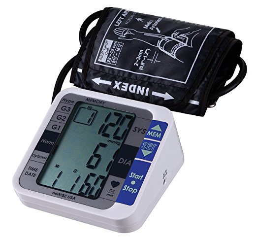GoWise Blood Pressure Monitor