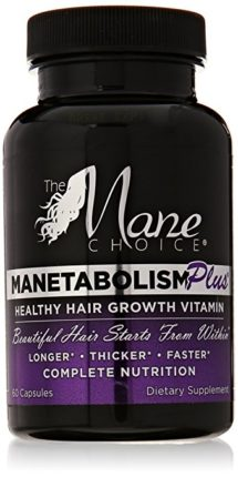 Manetabolism Plus Hair Growth Vitamins