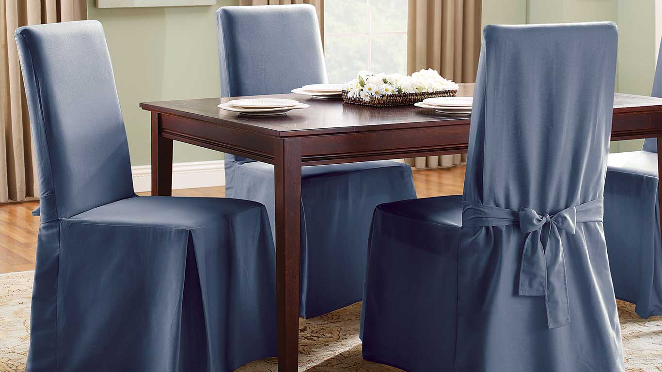 Best Dining Room Chair Covers Of 2020 For Elegance And Protection Aw2k