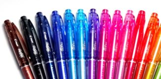 best erasable pens