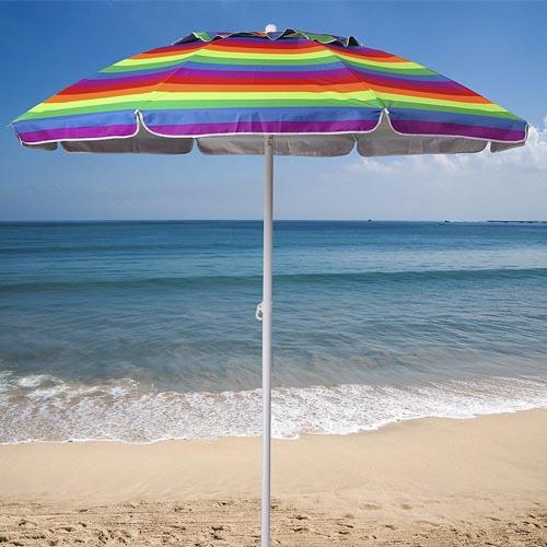 Ammsun 6.5 ft Outdoor Patio Beach Umbrella