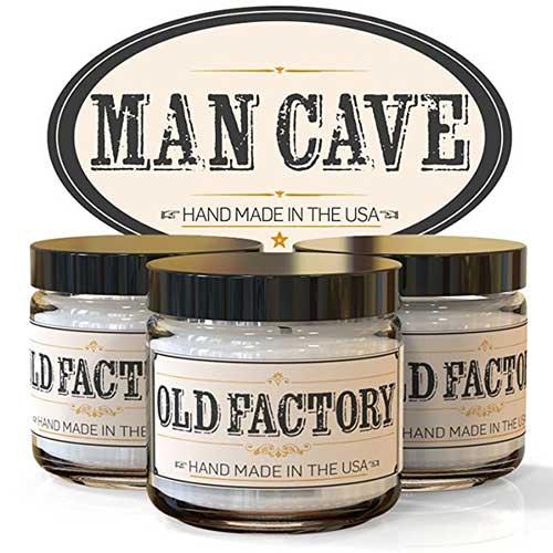 Old Factory Candles - Man Cave