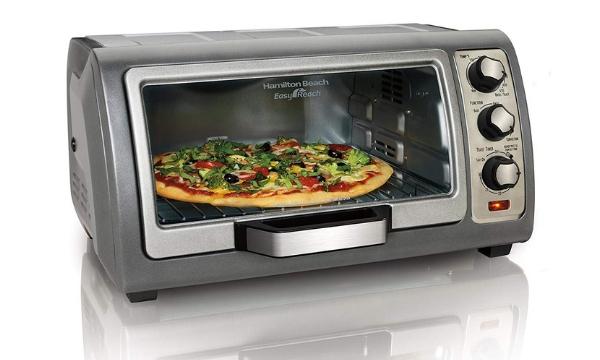 Hamilton Beach Toaster Oven with Roll-Top Door