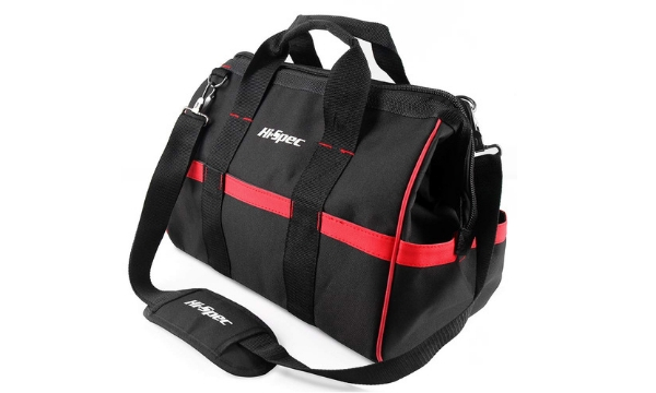 Hi-Spec 15-Inch Wide Mouth Tool Bag