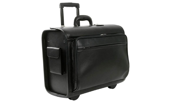 Royce Leather Unisex Pilot / Catalog Computer Case