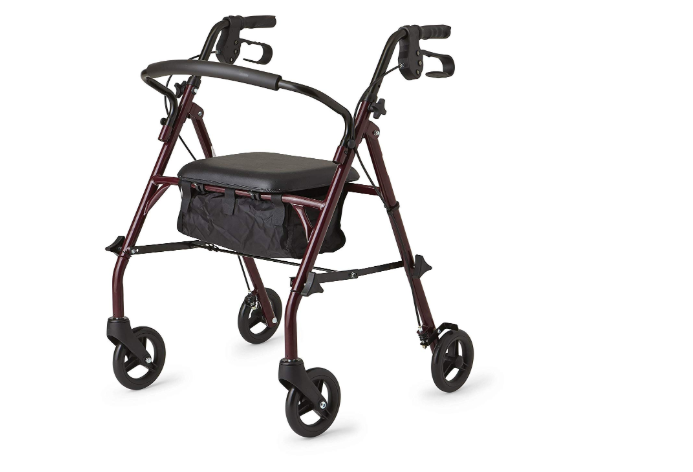Healthcare Direct 100RA Steel Rollator Walker