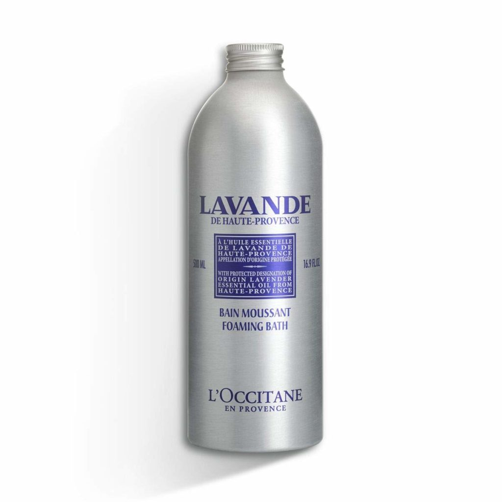 L'Occitane Relaxing & Foaming Lavender Bubble Bath
