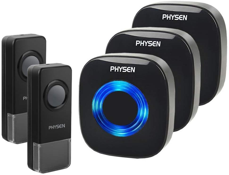 Physen Model CW Waterproof Wireless Doorbell kit