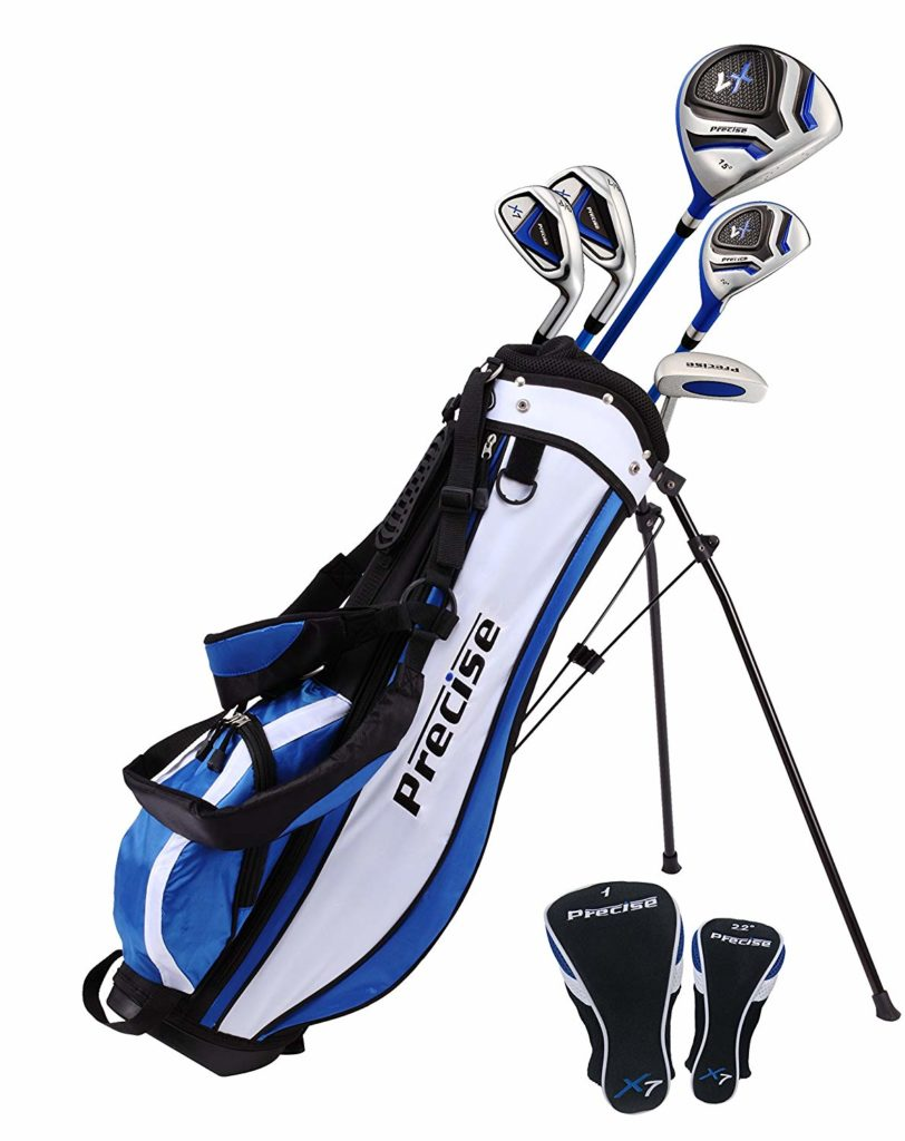 PreciseGolf Co. Precise X7 Junior Complete Golf Club Set for Children Kids